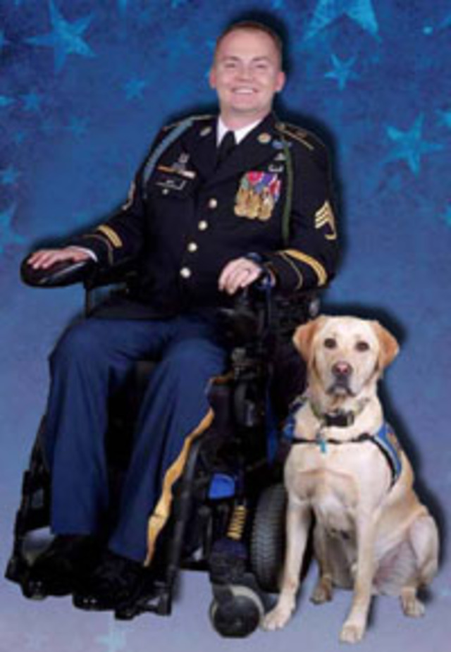 Help Provide a Service Dog to a Wounded Veteran
