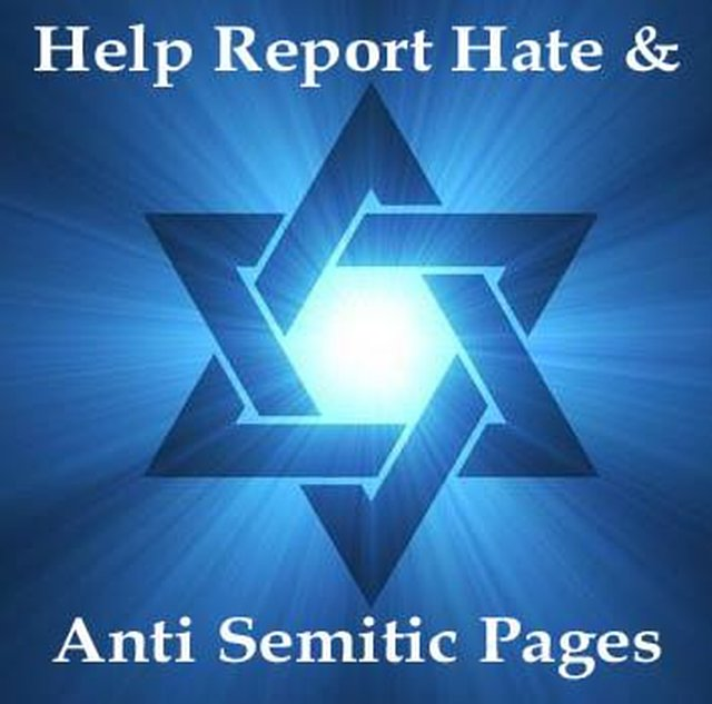 Remove Hate And Anti Semitic Pages/Groups From Facebook
