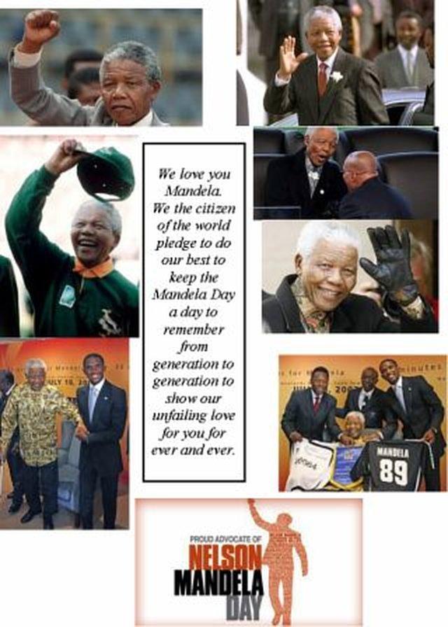 Honor Dr. Nelson Rholihlahla Mandela