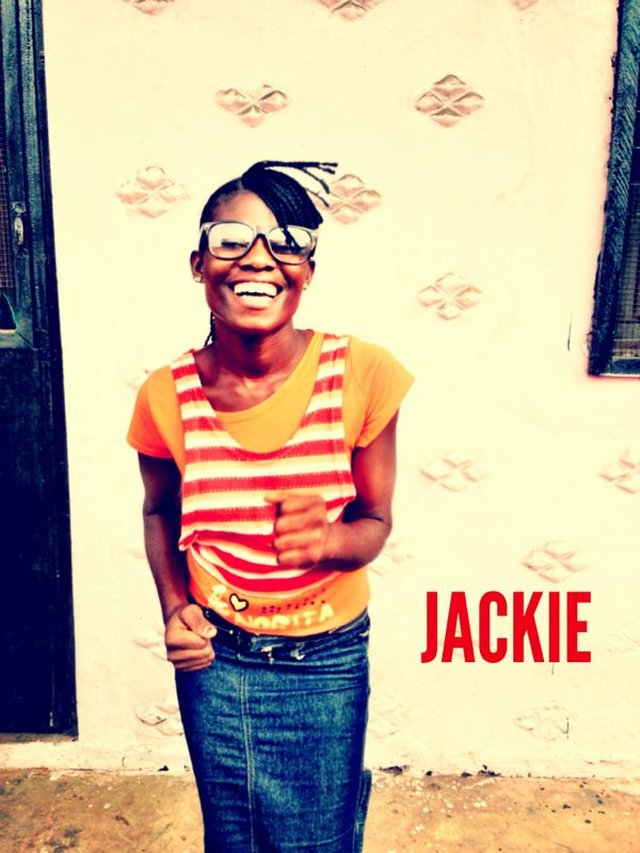 Meet Jackie at the Finish Line!