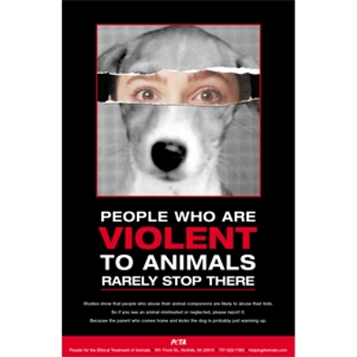 animal abuse and adult violence Animal cruelty and violence against people adults & abuse animals are easy prey for people who take out their frustration on other beings.