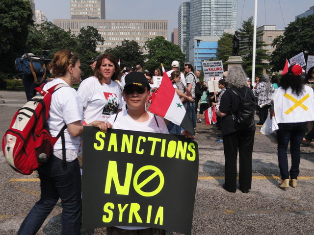 Hands Off Syria Petition to the World