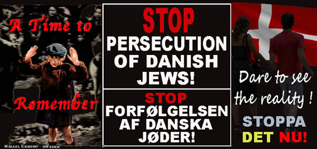 stop persecuting Danish and Swedish Jews
