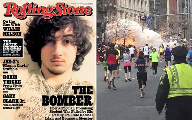 ask Rolling Stone to apologize for featuring Boston Bomber