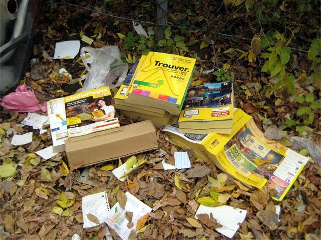 Start a Campaign for Citizens Against Phone Book Deliveries
