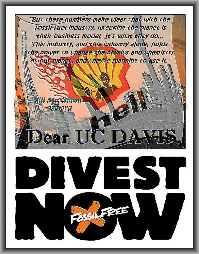 Urge the University of California to divest from fossil fuels