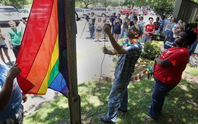 Save the Pride Flag in Lafayette
