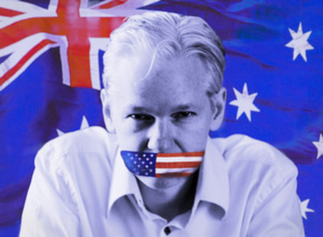 Stand up for Julian Assange! We want political intervention!