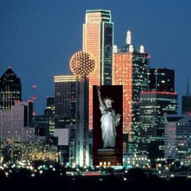 Let's Move the Statue of Liberty to Dallas, Texas!