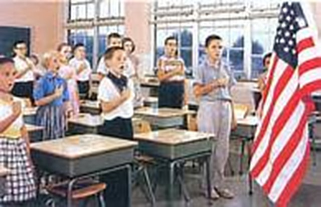 Children Should Recite The Pledge of Allegiance At The Start of Each School Day